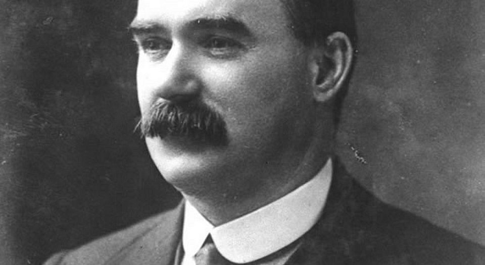 James Connolly: we only want the Earth
