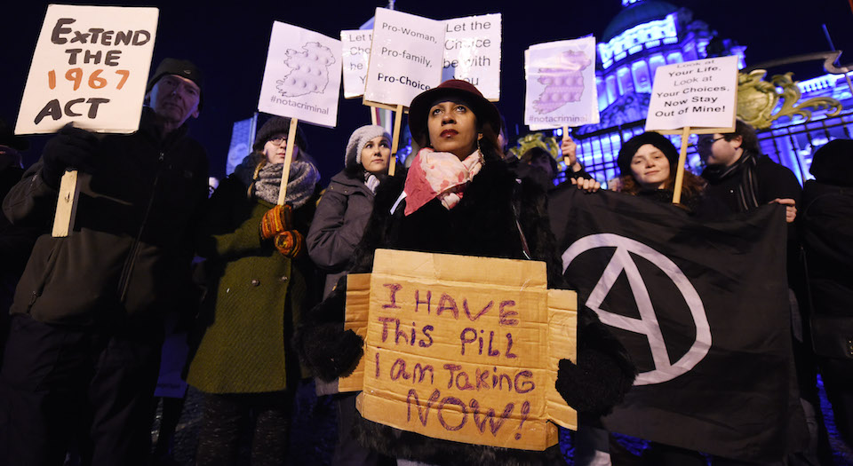 Standing up for Irish women's abortion rights