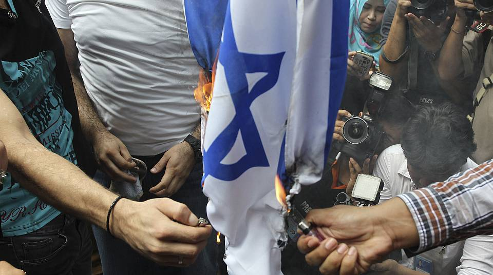 There's something very ugly in this rage against Israel