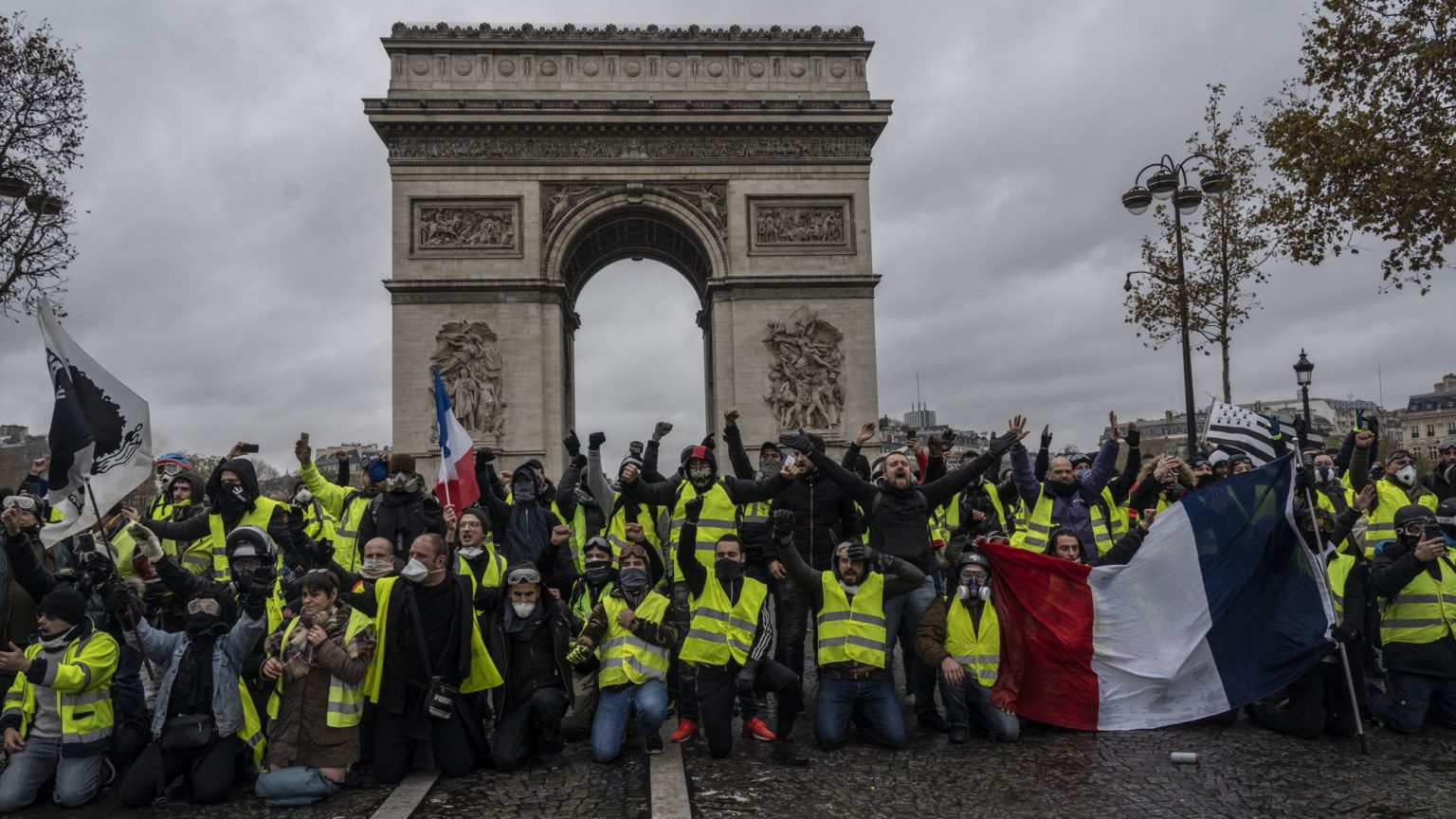 Why the left can't lead the yellow vests