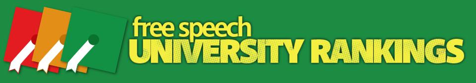 Free Speech University Rankings