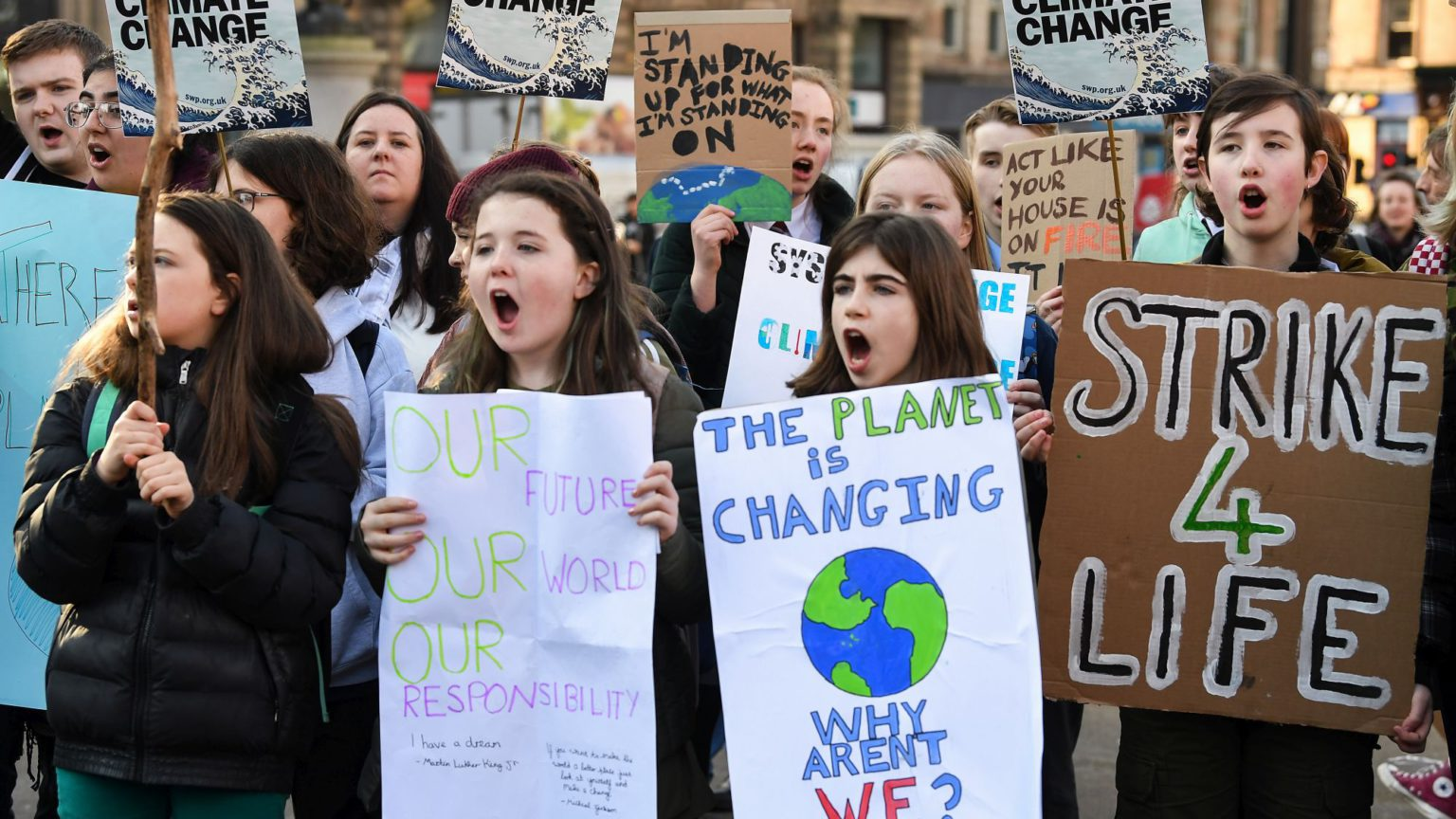 Stop scaring kids stiff about climate change