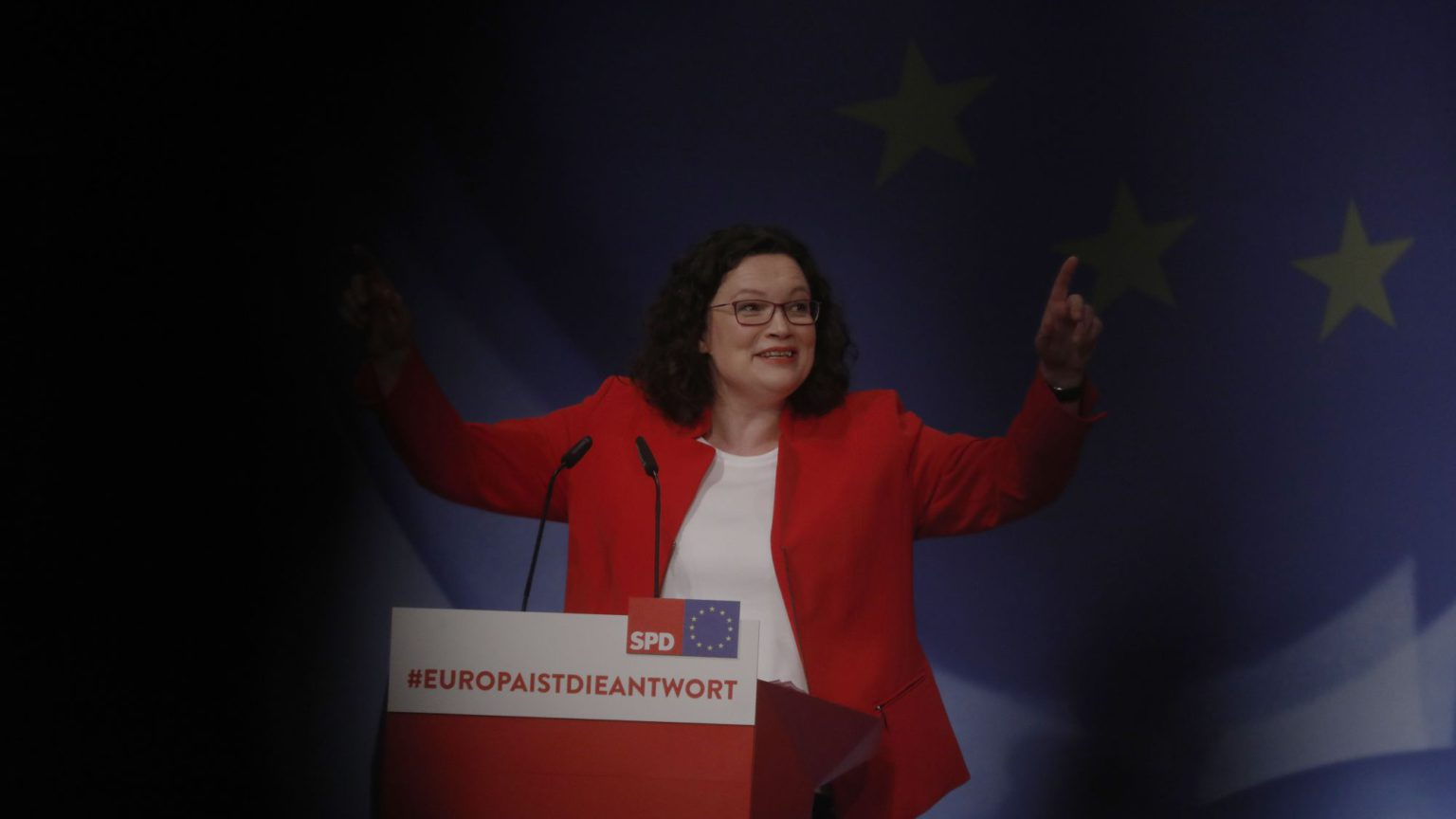 Don't cry for Andrea Nahles