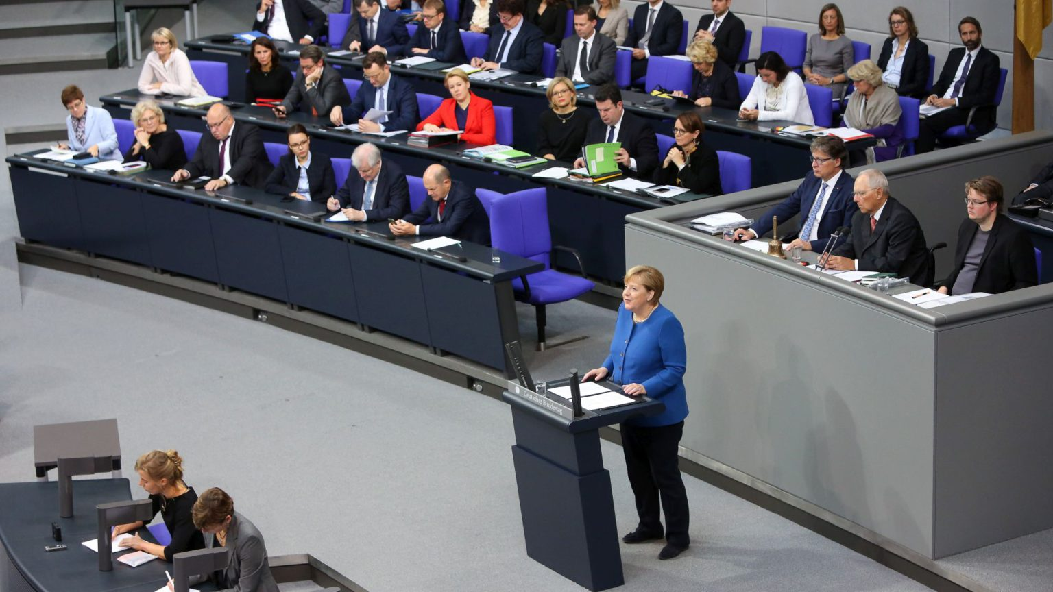 The year Germany's establishment started to crumble