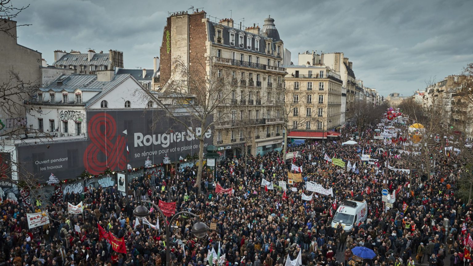 Another people's revolt in France