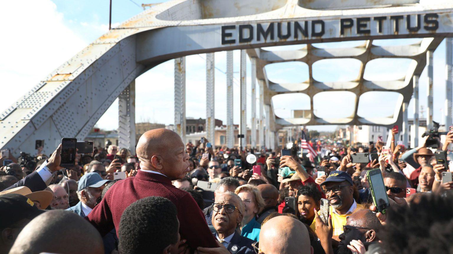 Why John Lewis didn't want the Edmund Pettus Bridge renamed