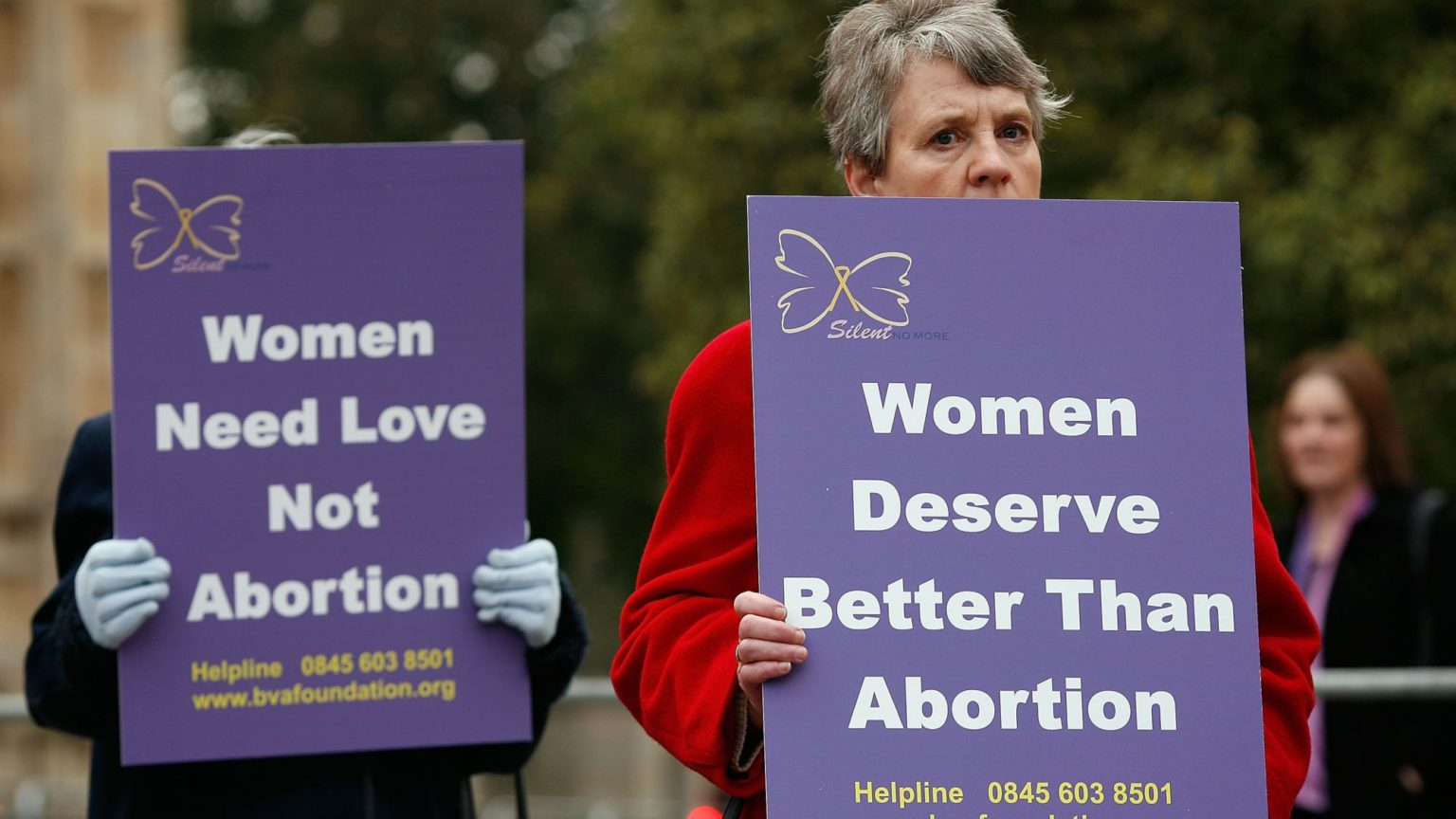 Protesting against abortion should not be a crime