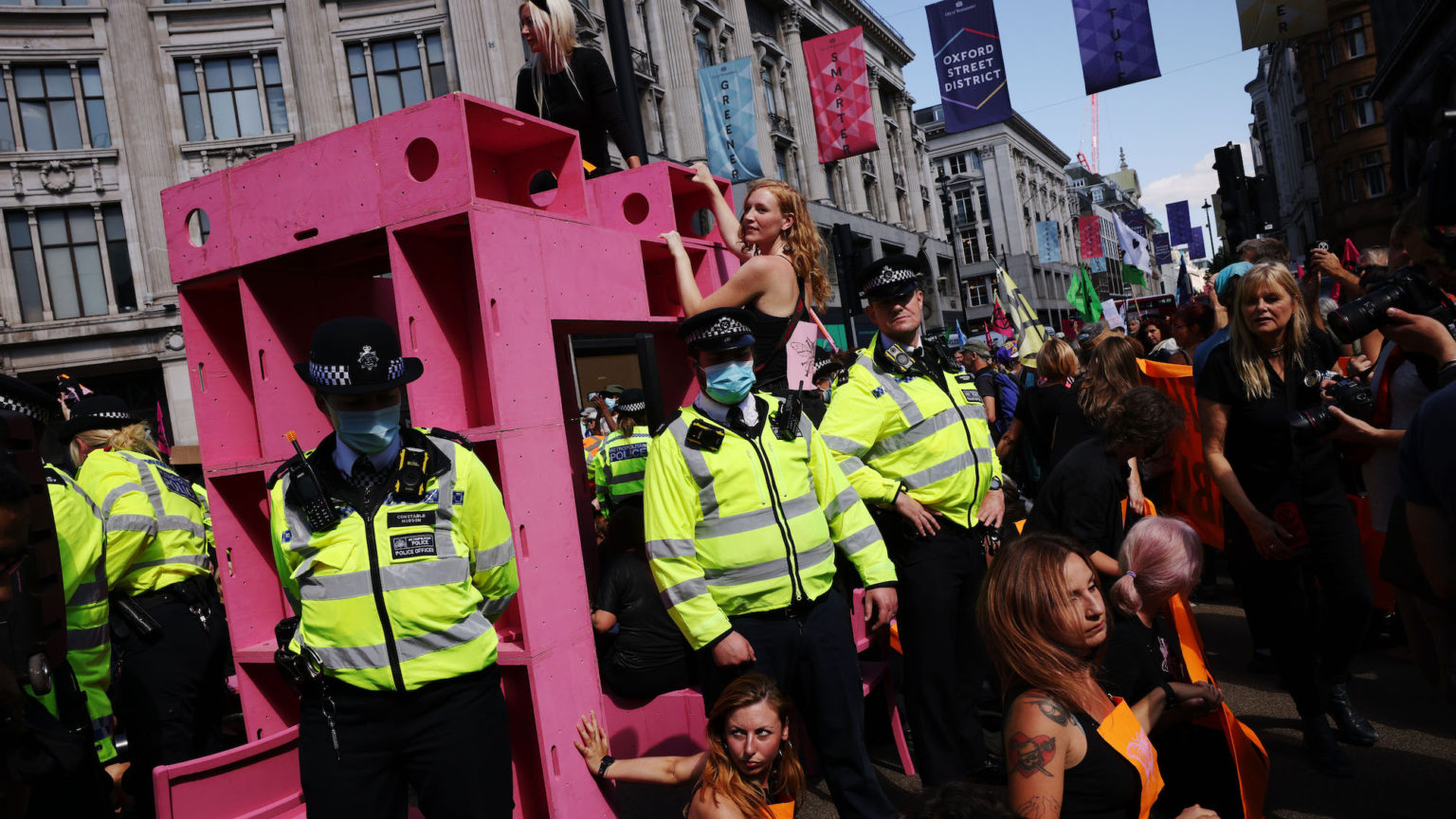 Extinction Rebellion doesn't care what you think