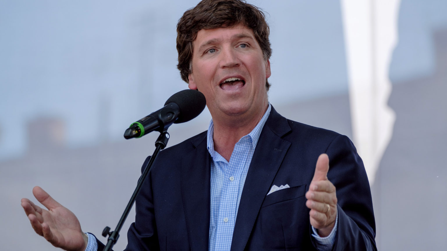 Why Tucker's trip to Hungary has sparked outrage